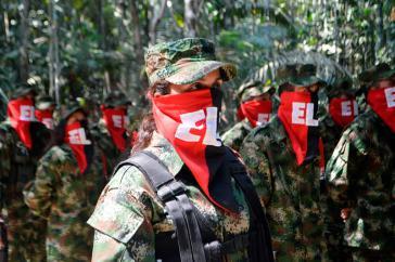 ELN widerspricht dem Online-Medium Semana, sie habe sich in den Wahlkampf in Ecuador eingemischt