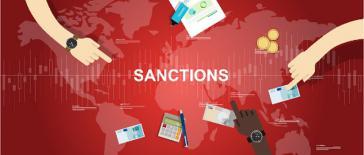 """Titelbild der EU-Studie """"Extraterritoriale Sanktionen auf Handel und Investitionen und europäische Reaktionen"""""""