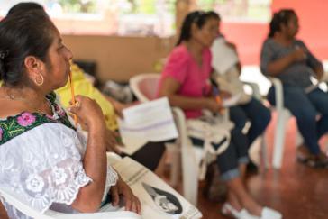 Frauen tagten über soziale Konflikte und Umwelt in Chiapas