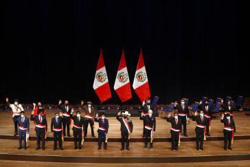 Das Kabinett der Regierung Pedro Castillo