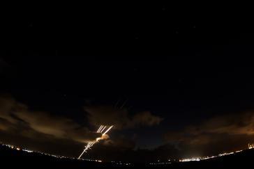 Raketenbeschuss aus Gaza. Unterschiedliche Reaktionen kamen aus lateinamerikanischen Ländern zur Eskalation in Israel und Palästina