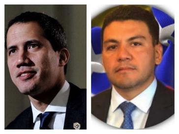 Juan Guaidó (links) hat die letzten zwei Jahre einiges an Geld aus den USA bekommen und, laut Medienberichten, versucht, weitere Gelder aus venezolanischem Staatsbesitz zu kontrollieren. Geholfen haben bei Zweiterem soll ihm Javier Troconis (rechts)