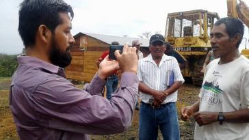 Wird wegen seiner Arbeit bei Prensa Comunitaria verfolgt: Der Journalist Carlos Ernesto Choc