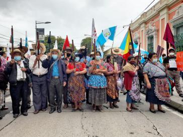Indigene Gemeinschaften setzten sich für die Schaffung eines plurinationalen Staates ein