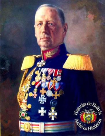 General Hans Kundt in Bolivien