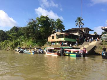 Am Fluss San Juan kommt es immer wieder zu Militäroperationen