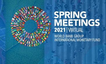 Die Frühjahrstagungen von IWF und Weltbank fanden vom 8. bis 10. April virtuell statt