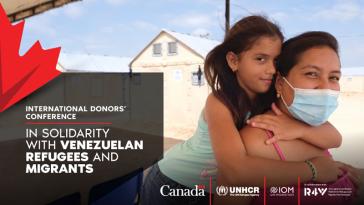 Werbebild der kanadischen Regierung in den sozialen Netzwerken für die Geberkonferenz, die live verfolgt werden konnte