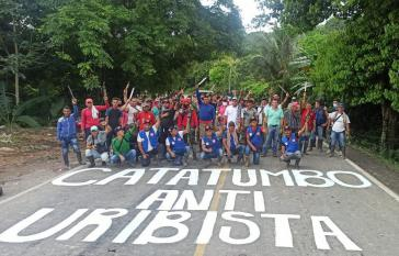 Catatumbo im Streik: Seit dem 4. Mai werden im Nordosten des Departamento Norte de Santander die Hauptverkehrsstraßen blockiert