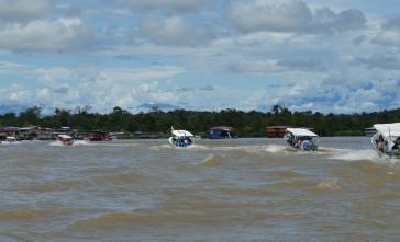 """Fünf Tage war die """"Fluss-Karawane"""" unterwegs"""