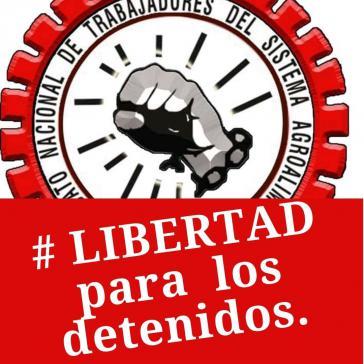 Die Lebensmittelgewerkschaft in Kolumbien fordert die Freilassung inhaftierter Sinaltrainal-Mitglieder