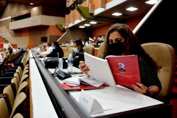 Aufgrund der Corona-Pandemie nahmen nur 300 Delegierte teil