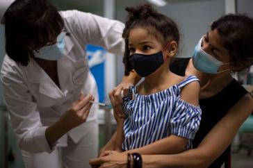 Impfkampagne für Kinder und Jugendliche auf Kuba