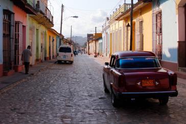 Die Straßen in Kuba