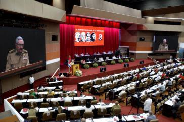 Raúl Castro legte am Freitag den Rechenschaftsbericht vor und zog selbstkritisch Bilanz