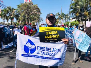Kundgebung am 22. März in San Salvador