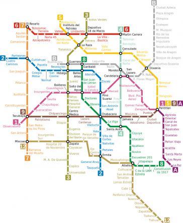 Die Metro von Mexiko-Stadt zählte 1,655 Milliarden Fährgästen im Jahr 2019 und ist insbesondere für arme Menschen ein wichtiges Fortbewegungsmittel