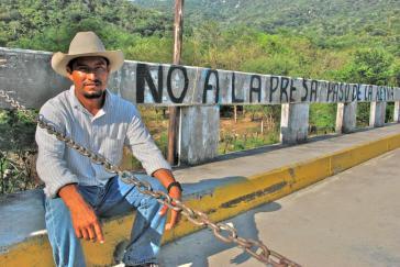 Verteidiger des Territoriums und des Flusses Río Verde: Fidel Heras Cruz