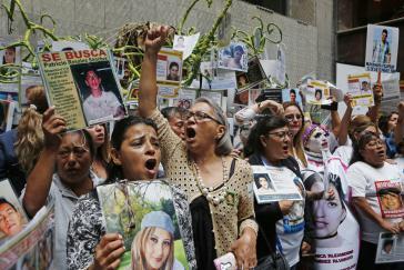 Mütter Verschwundener in Mexiko protestieren an jedem 30. August, dem Internationalen Tag für die Opfer des gewaltsamen Verschwindenlassens