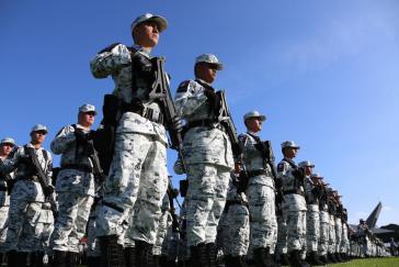Mexikos Regierung hat 10.000 Soldat:innen an der Südgrenze stationiert, darunter auch Angehörige der Nationalgarde