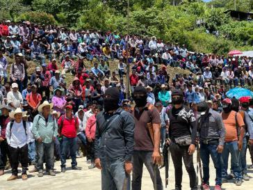 Versammlung von Gemeinden und El Machete in Pantelhó