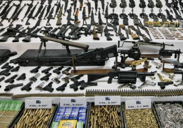 Mexiko wird mit Waffen überflutet