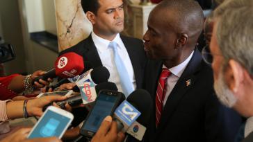Obwohl er nicht nur bei der Opposition sehr umstritten ist, gibt Präsident Jovenel Moïse weiterhin den Takt in Haiti vor