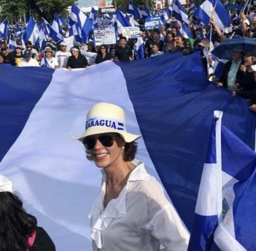 """Wird vor allem im Ausland als """"potenzielle Herausforderin"""" Ortegas gehandelt: Cristina Chamorro"""