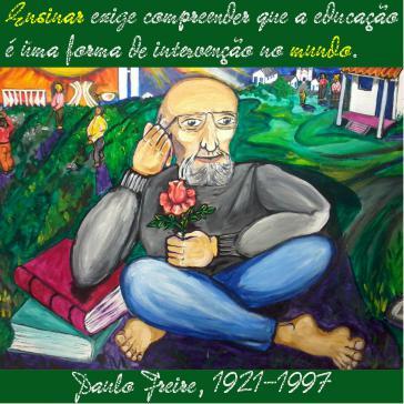 Paulo Freire (1921- 1997), einflussreicher brasilianischer Pädagoge und weltweit rezipierter Autor