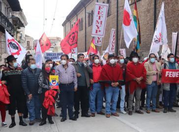 Ein breites Bündnis mobilisierte landesweit gegen die Regierung Lasso