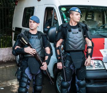 Seit 2015 kamen in São Paulo 581 Jugendliche durch Polizeieinsätze ums Leben