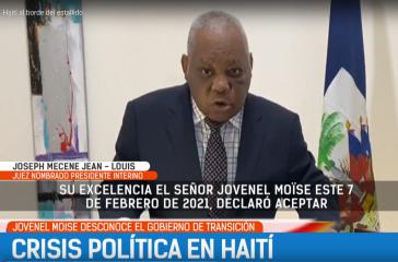 Richter Joseph Mécène Jean Louis übernimmt Rolle als Übergangspräsident in Haiti