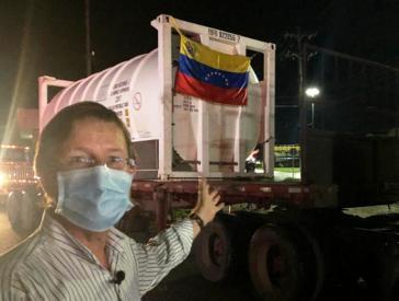 Venezuela hilft der brasilianischen Stadt Manaus mit Krankenhaus-Sauerstoff