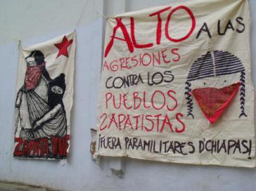Die EZLN berichtet über zunehmende Spannungen im mexikanischen Bundesstaat Chiapas