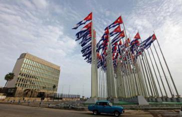 Botschaft der USA in Havanna