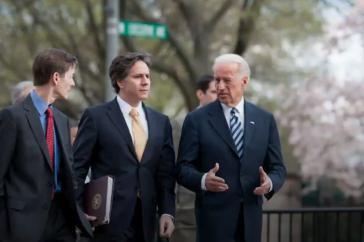 Blinken war stellvertretender Außenminister und stellvertretender nationaler Sicherheitsberater der Regierung Obama (hier mit dem damaligen Vizepräsidenten Biden)