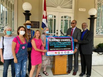 sechs Millionen Impfspritzen nach Kuba