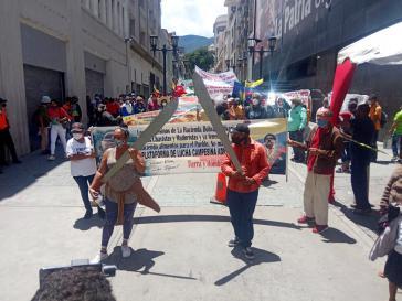 """Kleinbauernorganisationen verteidigen das """"Ley de Tierras"""" von 2001"""