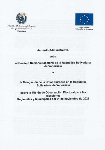 Der Wahlrat und die EU haben ein Abkommen zur Wahlbeobachtung unterzeichnet