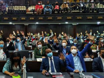257 der 277 Abgeordneten stimmten für den Gesetzentwurf