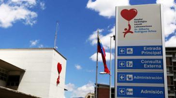 In der größten Kinder-Herzklinik Lateinamerikas konnten aufgrund der US-Sanktionen 2020 weniger als 120 Operationen durchgeführt werden, zuvor waren es 1.800 jährlich
