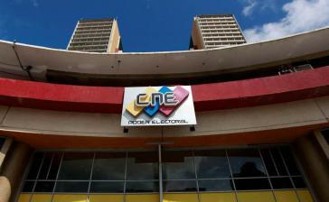 Sitz des CNE in der Hauptstadt Caracas