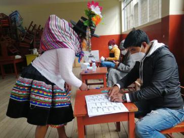 Noch ist unklar, wem die Mehrheit der Peruaner:innen am Sonntag ihre Stimme gab