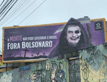 """""""Weg mit Bolsonaro"""" in Brasiliens Straßen weit verbreitet"""