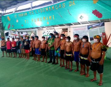 Auf dem 2. Forum der Anführer:innen der Yanomami und Ye'kwana wurde ein gemeinsamer Forderungskatalog erstellt