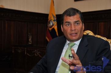 Correa befürchtet Staatsstreich