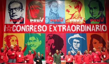 Venezuelas Sozialisten starten Parteitag