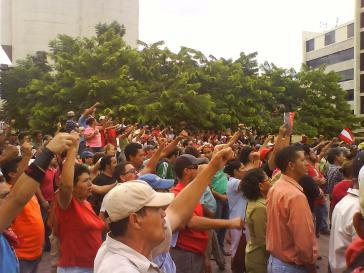 Hilfe für die Demokratiebewegung in Honduras
