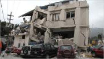 Zerstörungen in Haiti