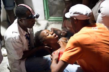 Ärzte in Haiti